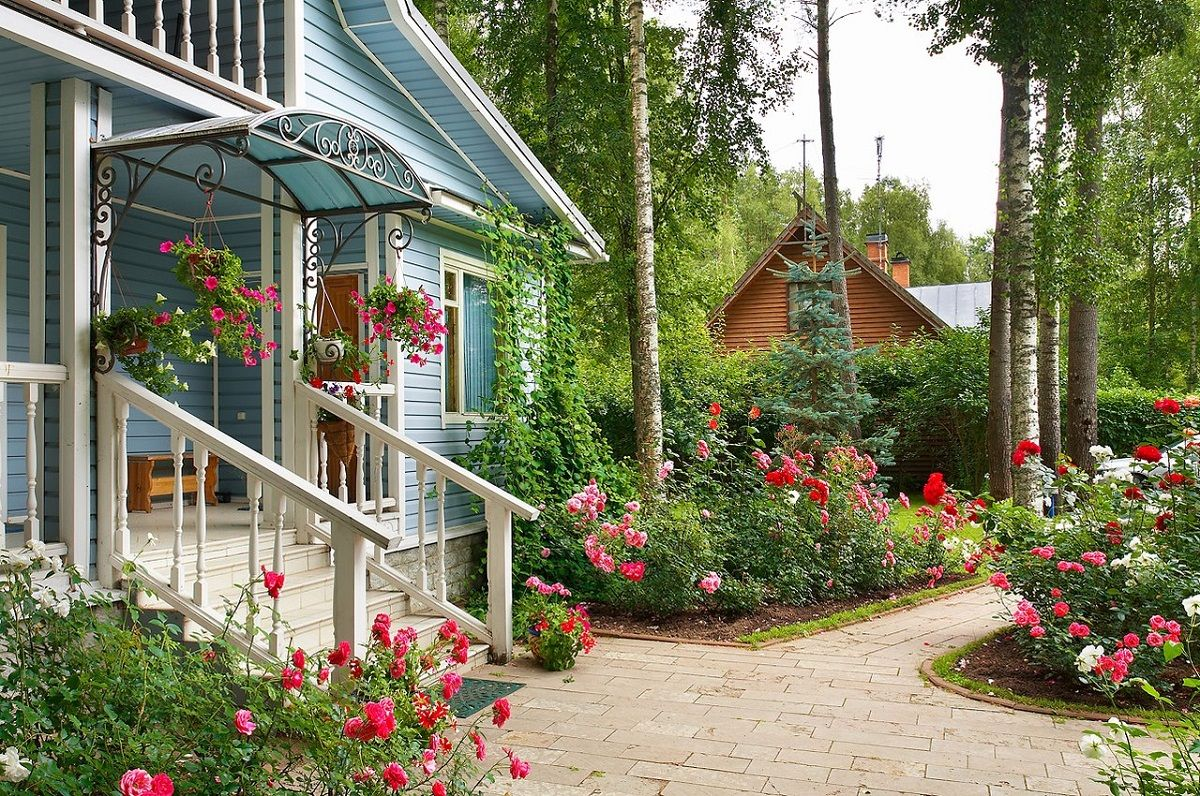Картинки домов красивых дач